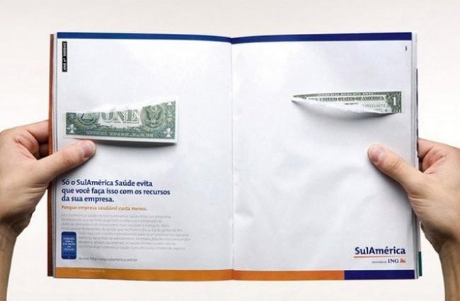 anuncios criativas duas paginas revistas e jornais 16 - 16 Anúncios de duas páginas mega criativos.