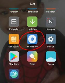 Cara setting Xiaomi jadi Remote AC