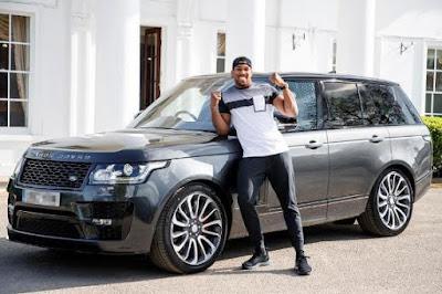 Anthony Joshua Unleash his N75million Range Rover – See Photos