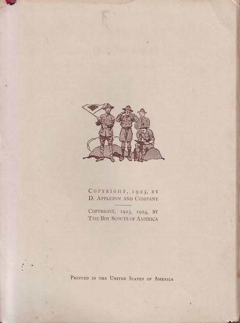Buku Tahunan Gerakan Pramuka Cetakan 1925