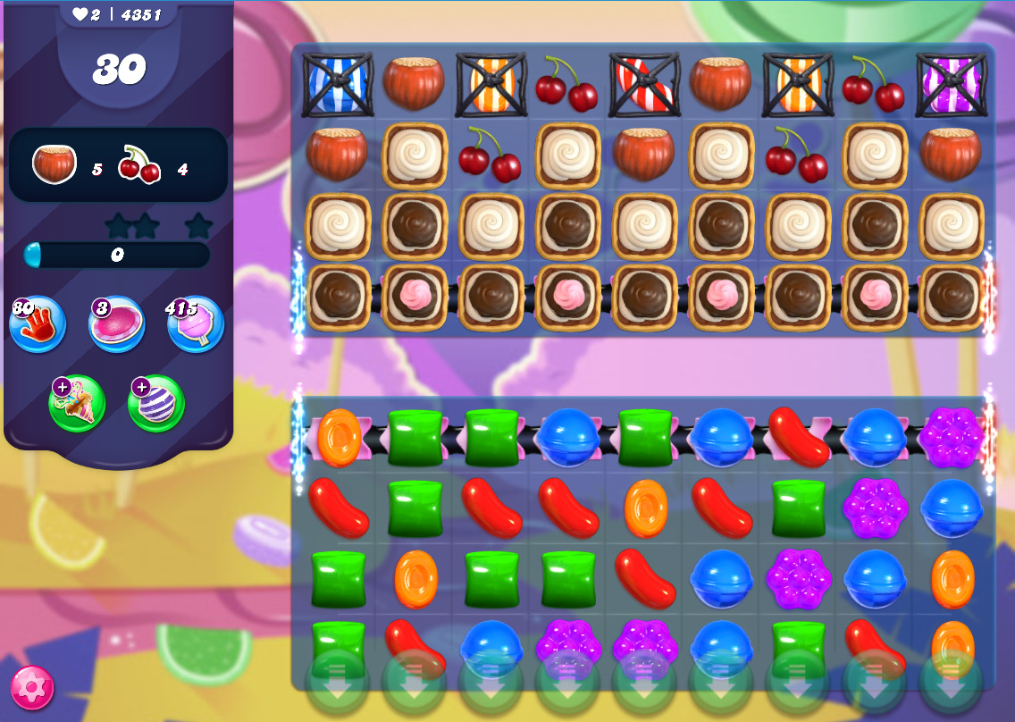 Candy Crush Saga level 4351