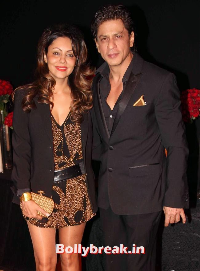Gauri Khan and Shah Rukh Khan, All Bollywood Celebs at Deepika Padukone Golden Party