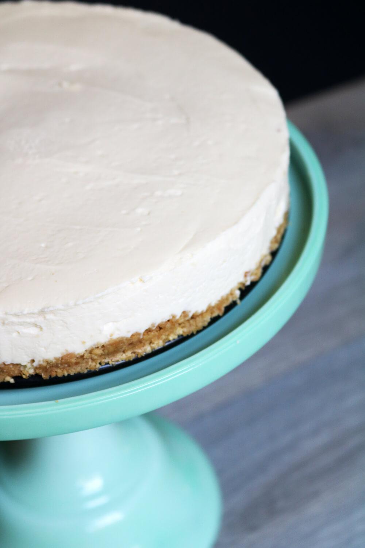 Custard Cream No Bake Cheesecake | Hungry Little Bear