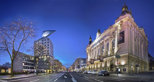 Avenida Kurfüstendamm em Berlim