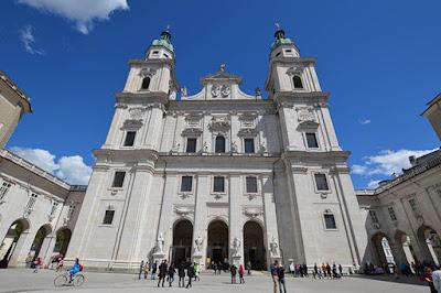 Catedral de Salzburg, DomQuartier, Salzburg, Ásutria