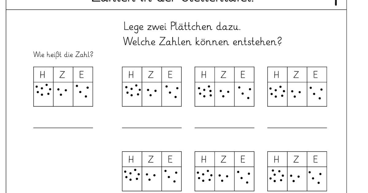 Lernstübchen: Zahlen in der Stellentafel