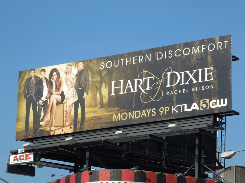 Hart of Dixie mid-season 1 billboard