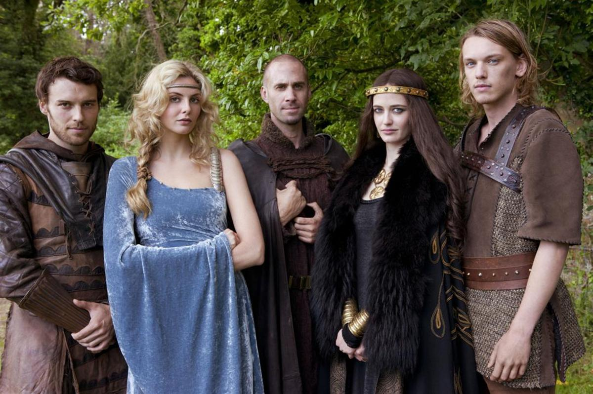 Nude photos of female cast of camelot series #3