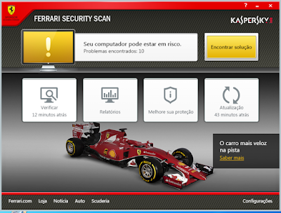 KASPERSKY FERRARI SECURITY SCAN 15.0