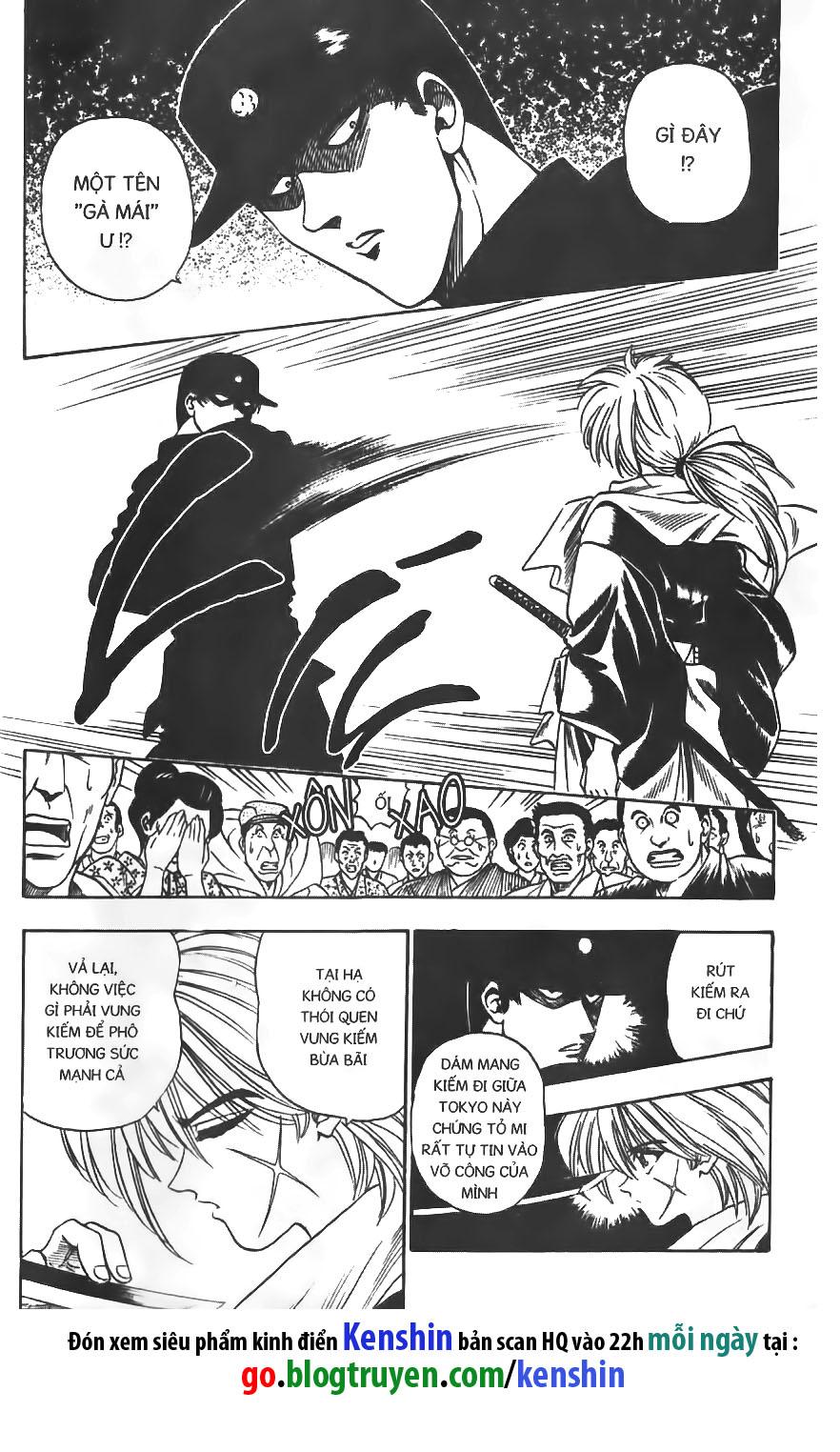 Rurouni Kenshin chap 2 trang 9