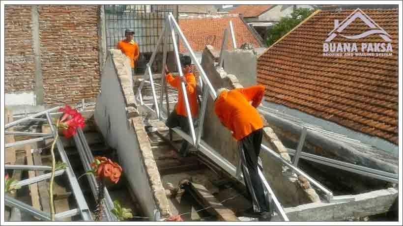 Harga Rangka Baja Ringan Manado Jual Murah Pabrik Distributor Screw Mur Baut Skrup ...