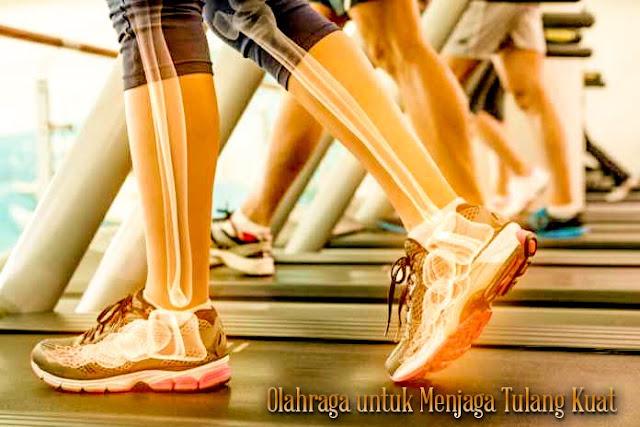 berolahraga agar tulang kuat