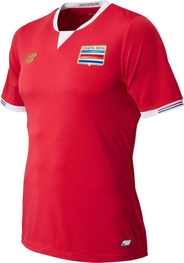 New Balance lança as novas camisas de Costa Rica - Show de Camisas 071408033916e