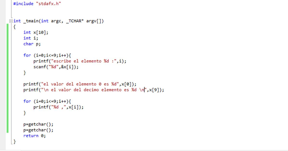Programación Estructurada Arreglos Unidimensionales Y