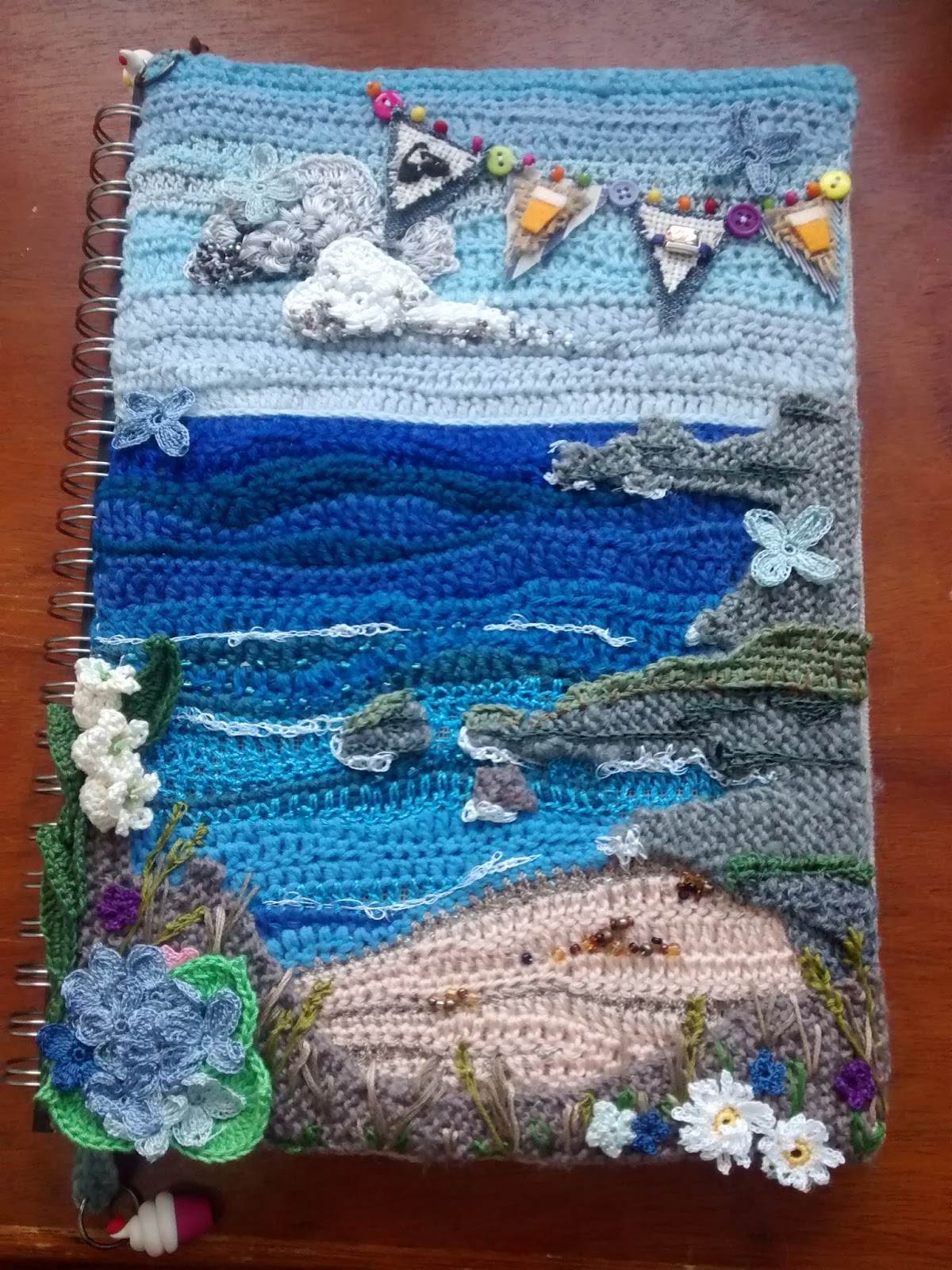 String Theory Crochet Mostly Crochet Freeform Seascape
