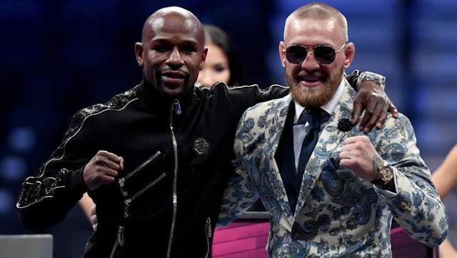 McGregor retó a Mayweather a una revancha en cualquier condicion