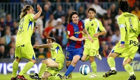 Messi Solo Goal vs Getafe