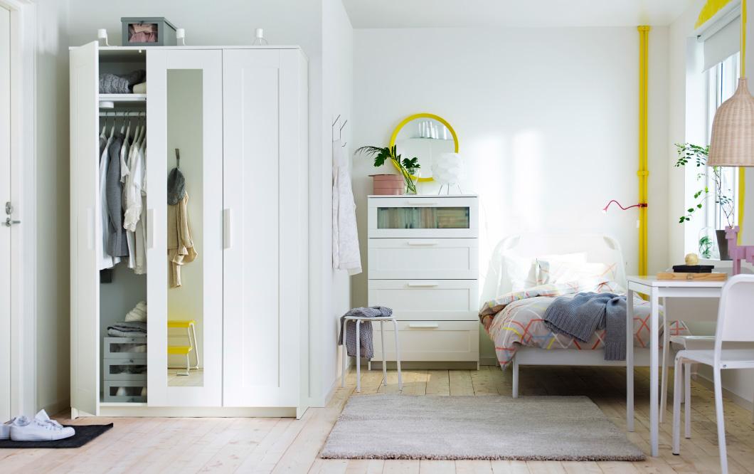 40 Quartos de casal IKEA 2016  Decorao e Ideias