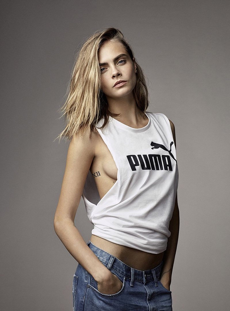 Cara Delevingne stars in the Puma Spring/Summer 2017 Campaign