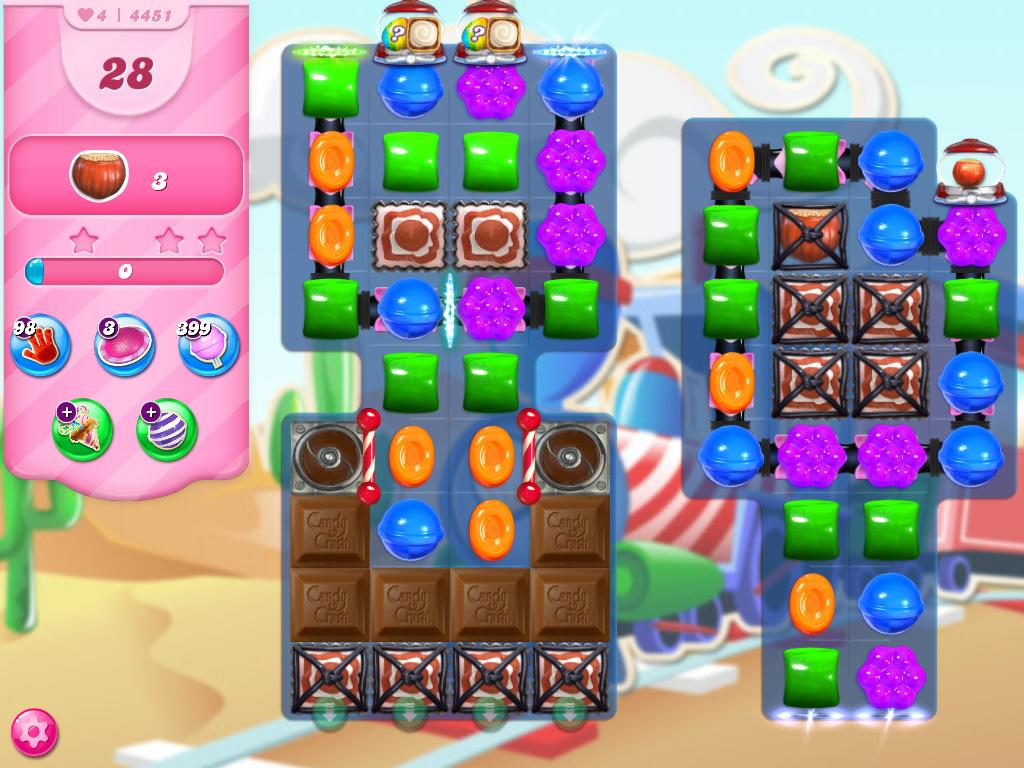 Candy Crush Saga level 4451