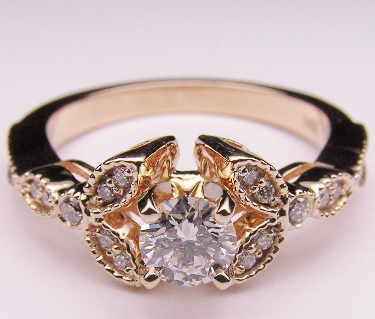 Wedding Rings Flowers: Floral Decorations: Floral Engagement Rings