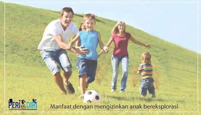Manffat tidak melarang anak saat bermain