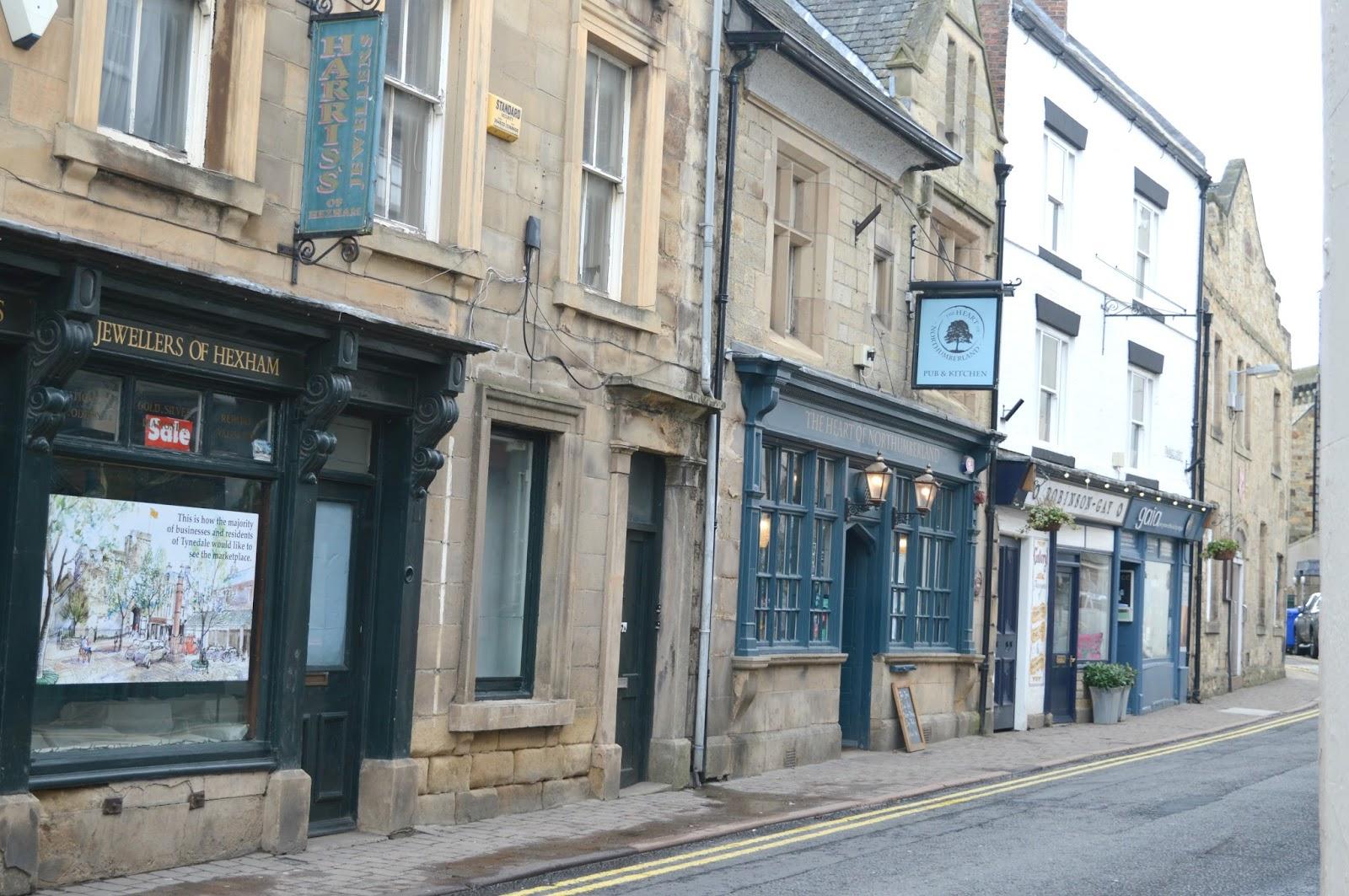Hexham Northumberland - Guide