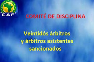 arbitros-futbol-SANSIONES-CAF