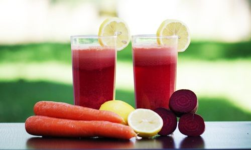 Pola hidup sehat dengan jus buah