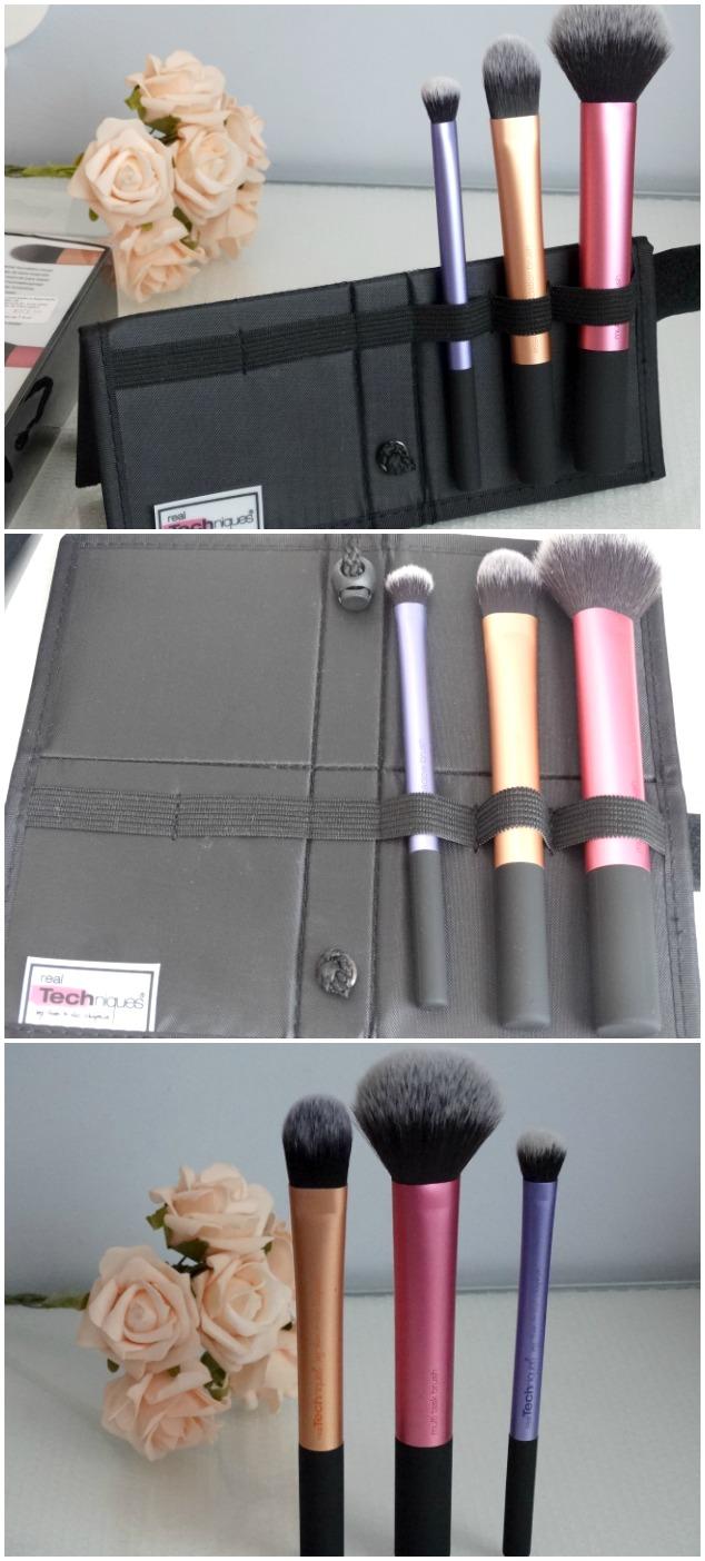 Kit básico de pincéis para maquiagem Real Techniques 2