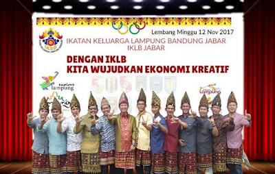 IKLB Giatkan Ekonomi Kreatif Berbasis Kearifan Lokal Lampung