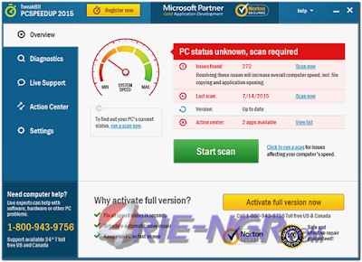 TweakBit PCSpeedUp 1.8.2.2 Full Version