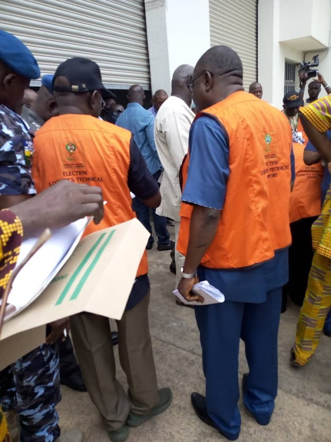 Osun 2018 (Breaking News): 48 Governorship Aspirants, INEC distributing election materials
