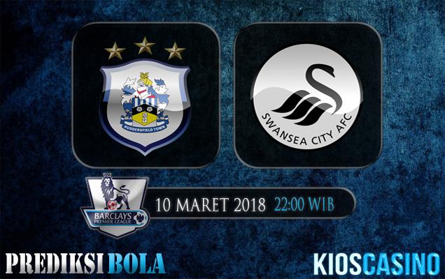 Prediksi Skor Huddersfield Town vs Swansea 10 Maret 2018