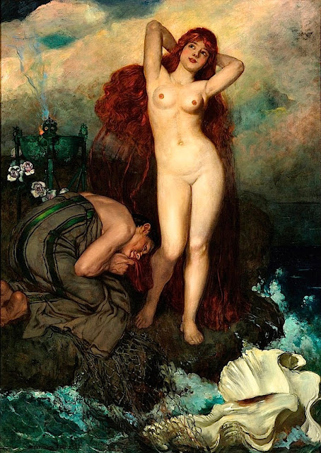 Alxander Frenz: La nascita di Venere