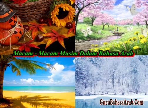 Macam - Macam Musim Dalam Bahasa Arab