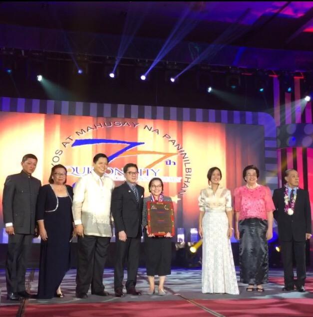 papemelroti receives quezon citys 2016 gawad parangal