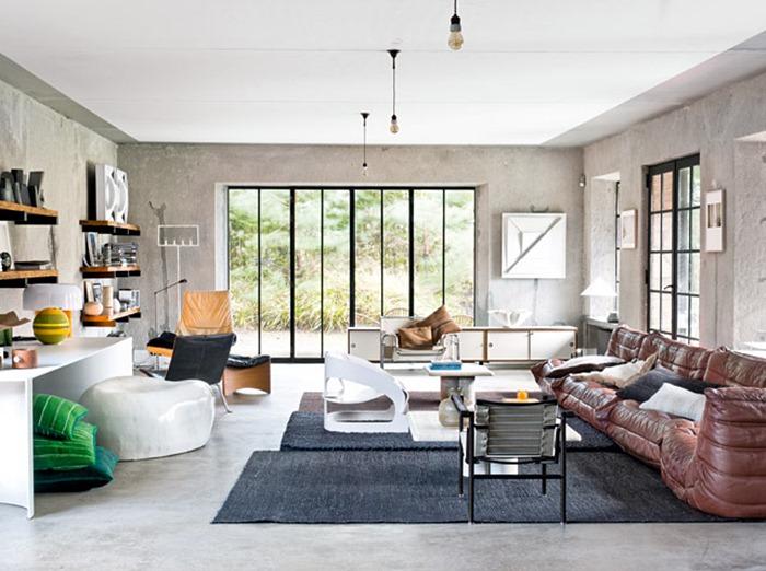 interiores casa decoracion de interiores rustico moderno. Black Bedroom Furniture Sets. Home Design Ideas