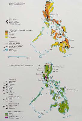Gambar Peta Negara Filipina