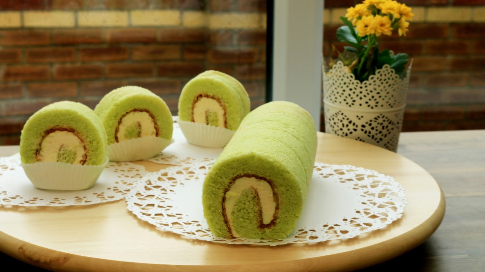 Easy Pandan Cake Recipe