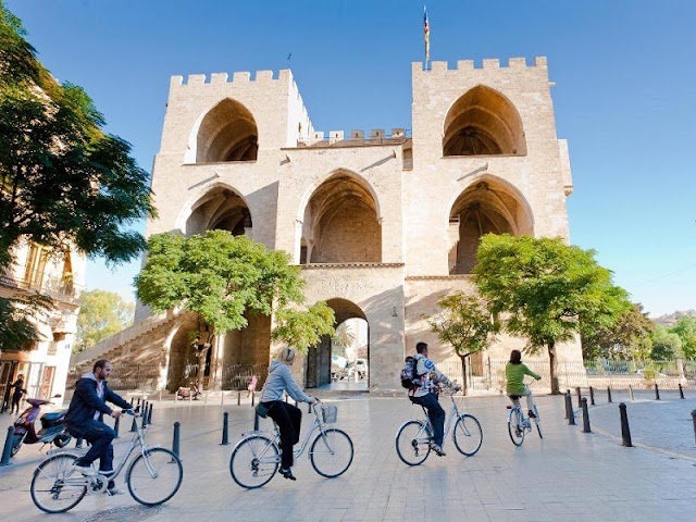 Passeio de bicicleta por Valência