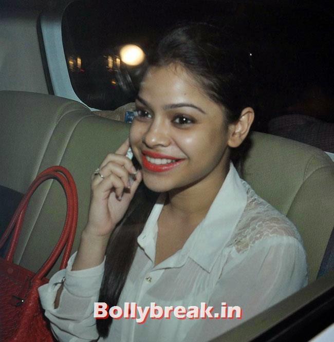 Sumona Chakravarti, Celebs at Heropanti Special Screening