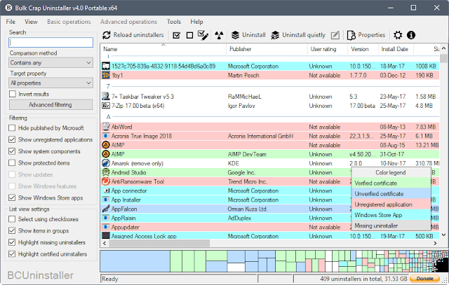 كيفية ازالة البرامج و الالعاب الغير مرغوبة فيها بدفعة واحدة على ويندوز !