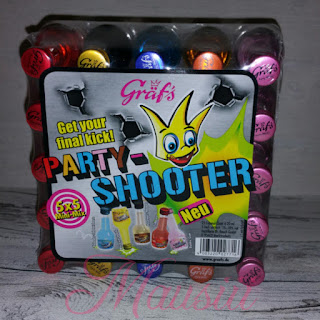 Party-Shooter in Verpackung