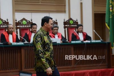 Hakim Bisa Vonis 5 Tahun, Meskipun Jaksa Dan Penasehat Hukum Sepakat Ahok Tidak Menista Agama Islam