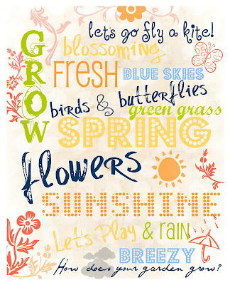 picture regarding Spring Printable named Craftionary