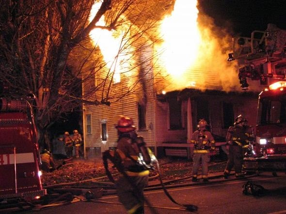 Firefighter Days Structure Fire First Due