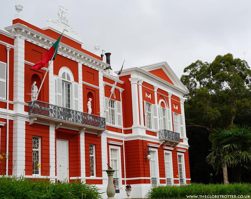 Palacios da Presidencia in Ponta Delgada