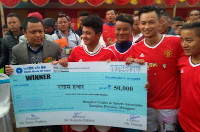 Late KB Gurung memorial challenge cup rungbee division final