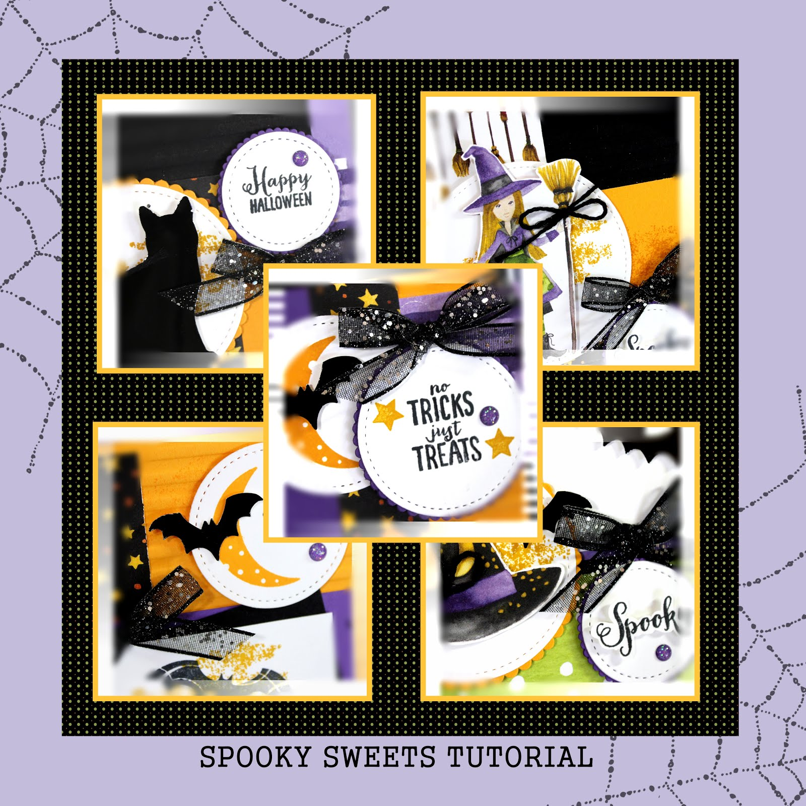 September 2018 Spooky Sweets Tutorial